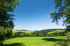 Spring/summer countryside Royalty Free Stock Image