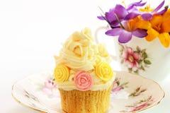 Spring or summer cupcake Royalty Free Stock Photo