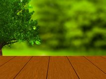 Spring and summer design with brown wood planks royalty free stock photo