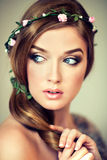 Spring and summer look. Stock Image