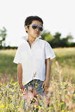 Spring / Summer outdoor portrait stock images