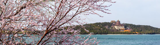 Spring Summer Palace in Beijing Stock Photo