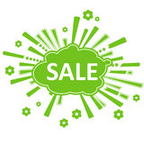 Spring (summer) sale design Stock Photography