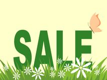 Spring and summer sales Stock Images