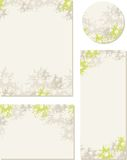 Spring-summer wedding templates (set 2) Royalty Free Stock Photo