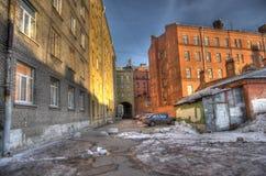 Urban gateway Stock Image