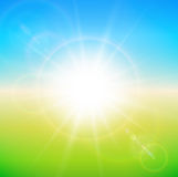 Spring sunny background Stock Photography