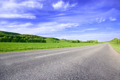 Spring sunny day landscape Royalty Free Stock Photography