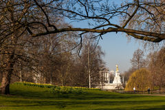 Spring sunny morning in Westminster, London Royalty Free Stock Image