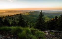 Spring Sunrise In The Blue Ridge Mountain Royalty Free Stock Photos