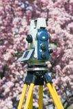 Spring surveying Stock Photos