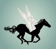 Pegasus häst Royaltyfri Foto