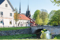 Spring in Sweden Royalty Free Stock Images