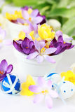 Spring table decoration Stock Photography