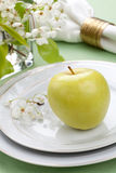 Spring table settings Stock Photography