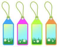 Spring tags vector illustration