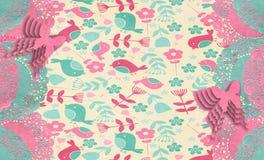 Spring Tapestry Doily Royalty Free Stock Photos