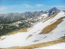 Spring in the Tatra Mountains Royalty Free Stock Image