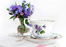 Spring Tea Royalty Free Stock Photography