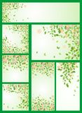 Spring templates Stock Photo