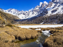 Spring thaw Stock Photography