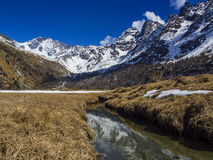 Spring thaw Royalty Free Stock Image