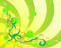 Spring theme. Abstract background with spring attributes Royalty Free Stock Photos