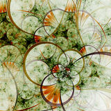 Spring themed abstract floral pattern Stock Photography