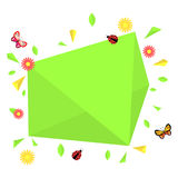 Spring themed colorful banner Royalty Free Stock Photography