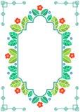 Spring themed floral frame Stock Image