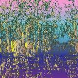 Spring_thickets ελεύθερη απεικόνιση δικαιώματος