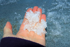 Free Spring Thunderstorms With Hail And Tempest Stock Images - 53362394