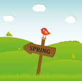 Spring time Royalty Free Stock Photography
