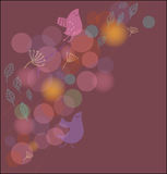 Spring time  background. Spring time cute background in violet colors Stock Photography