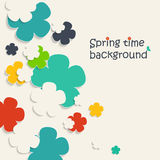 Spring time background Stock Photos