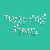 Spring time background Stock Image