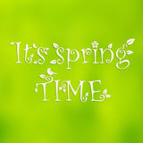 Spring time background Stock Photography