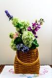 Spring time basket Stock Photo