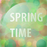 Spring time blur Royalty Free Stock Photos
