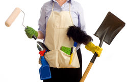 Spring Time Chores Royalty Free Stock Photo