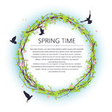 Spring time frame Royalty Free Stock Images