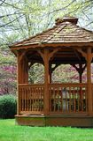 Spring Time Gazebo Stock Images