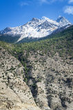 Spring time in Himalaya mountains Stock Photography
