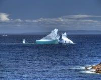 Spring time iceberg Stock Photography
