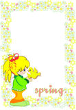 Spring time illustration Stock Images