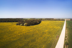 Spring time in latvian countryside. Royalty Free Stock Images