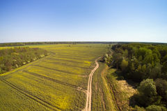 Spring time in latvian countryside. Royalty Free Stock Photography