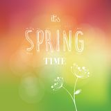 Spring time vector Stock Photography