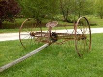 Spring Tine Harrow Stock Photo
