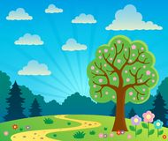 Spring topic scenery 2 Royalty Free Stock Images